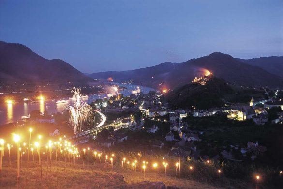 Sonnwendfeier in der Wachau