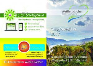 Heurigenkalender 2017 Weißenkirchen in der Wachau