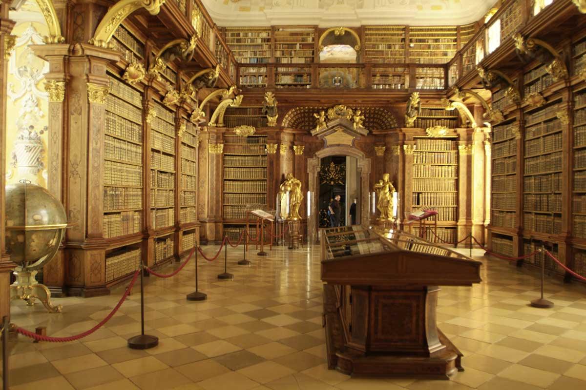 Bibliothek Stift Melk