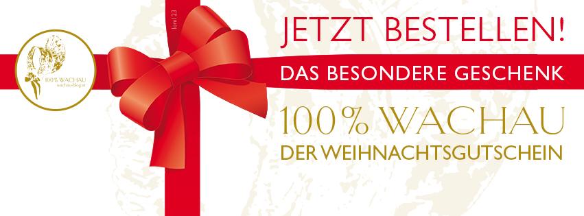 Der 100% Wachau-Geschenkgutschein