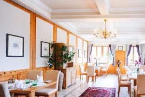 Speisezimmer des Hotel Restaurant Donauwirt
