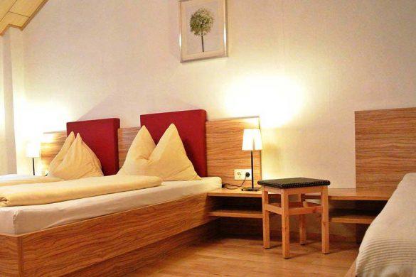 Zimmer in der Pension Gästehaus Heller
