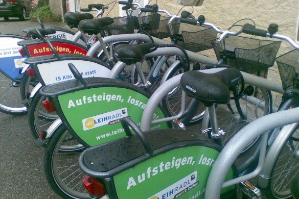 Nextbikes - Räder in der Wachau ausborgen