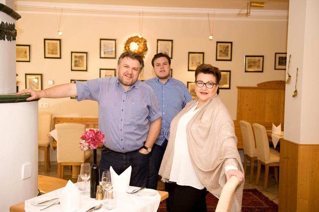 Familie Rosenberger vom Hotel Restaurant Donauwirt in der Wachau