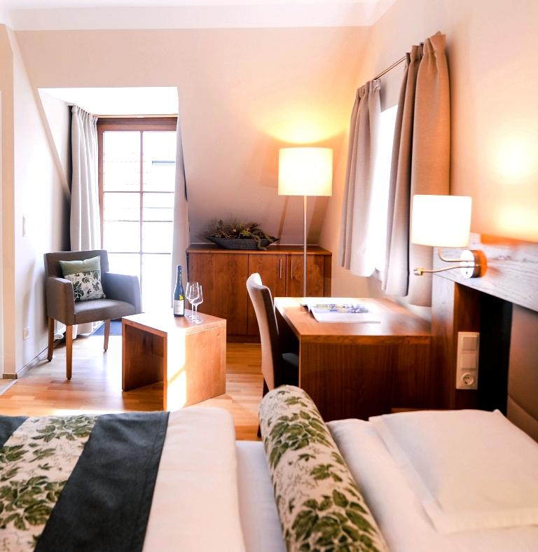 Zimmer im Hotel Donauwirt in der Wachau