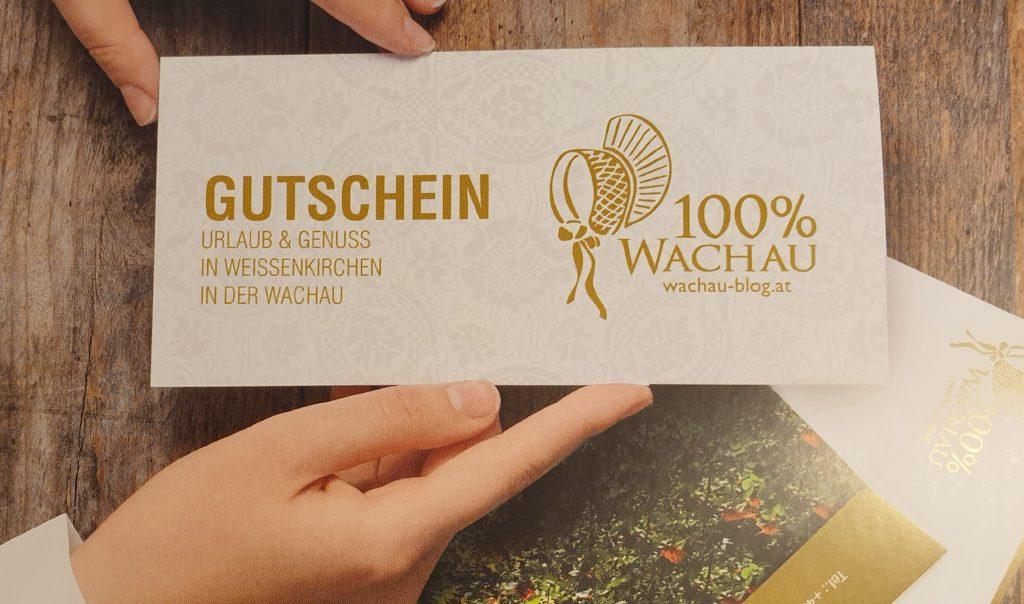 Gutschein 100% Wachau